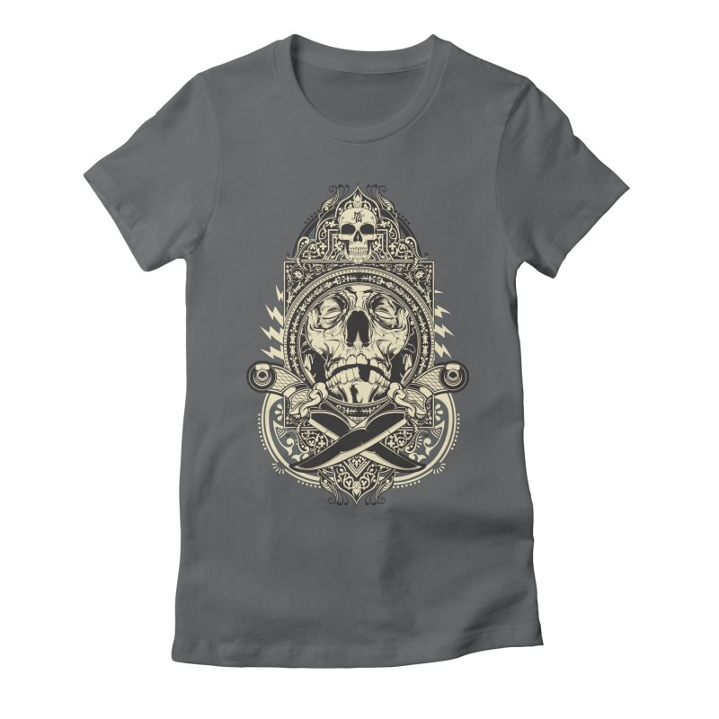 Hydro74 Old School Deity Women's Fitted T-Shirt by HYDRO74