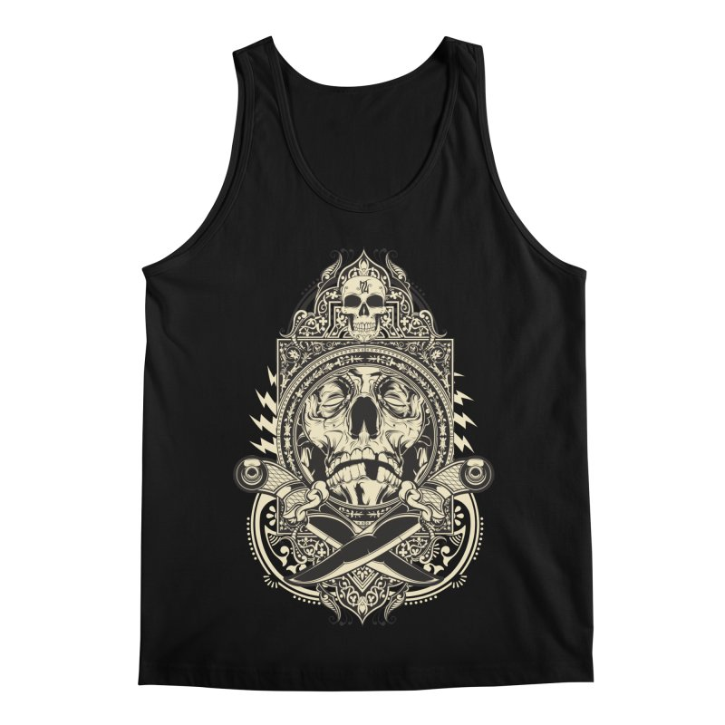 Hydro74 Old School Deity Men's Regular Tank by HYDRO74
