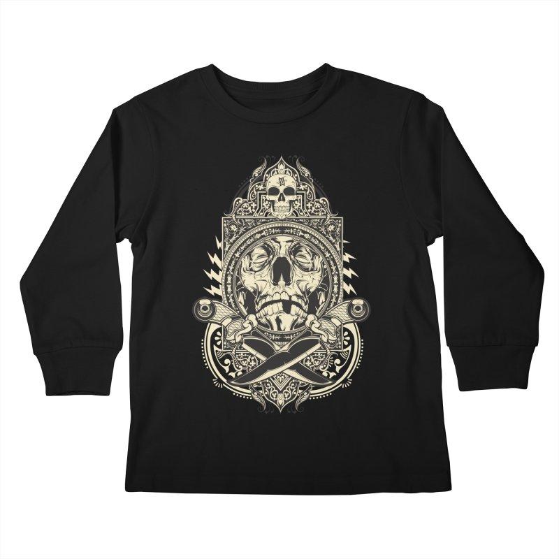 Hydro74 Old School Deity Kids Longsleeve T-Shirt by HYDRO74