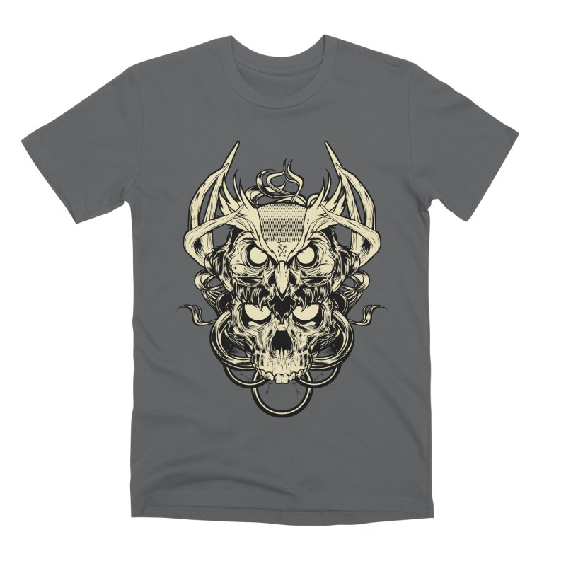 Hydro74 Old School Owl Men's T-Shirt by HYDRO74