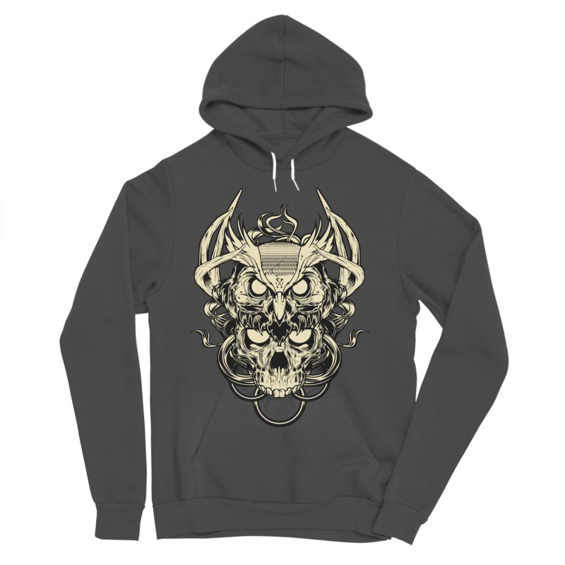 Hydro74 Old School Owl Women's Sponge Fleece Pullover Hoody by HYDRO74