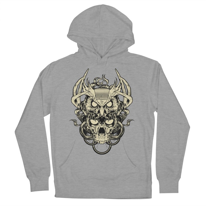 Hydro74 Old School Owl Women's French Terry Pullover Hoody by HYDRO74
