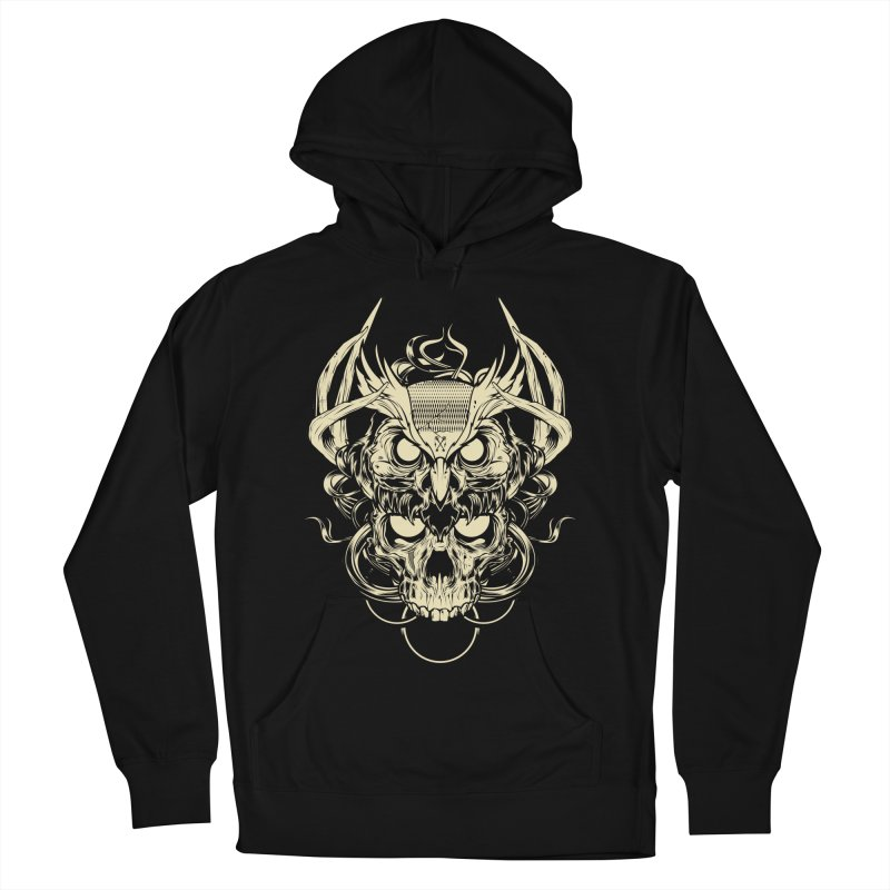 Hydro74 Old School Owl Men's French Terry Pullover Hoody by HYDRO74
