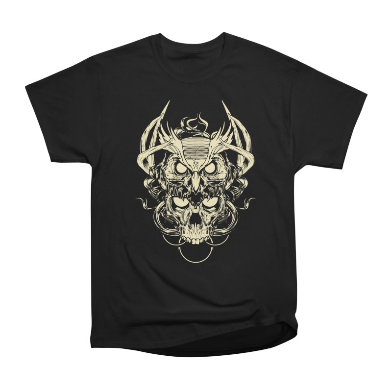 Hydro74 Old School Owl Men's Heavyweight T-Shirt by HYDRO74