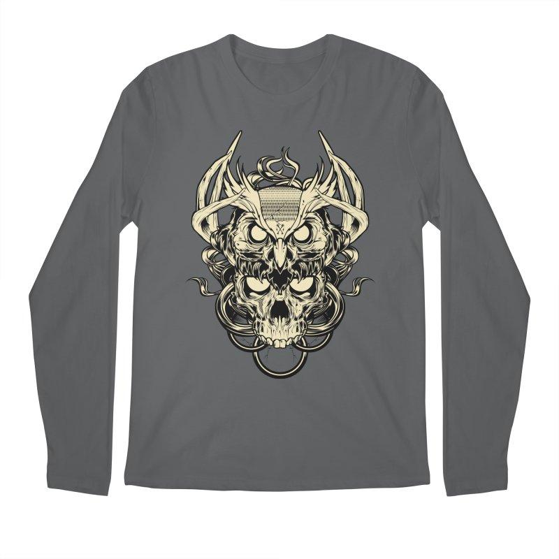 Hydro74 Old School Owl Men's Longsleeve T-Shirt by HYDRO74