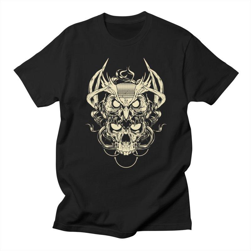 Hydro74 Old School Owl Men's Regular T-Shirt by HYDRO74