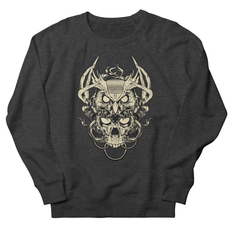 Hydro74 Old School Owl Women's French Terry Sweatshirt by HYDRO74