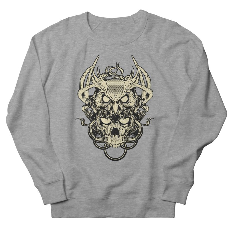 Hydro74 Old School Owl Men's French Terry Sweatshirt by HYDRO74
