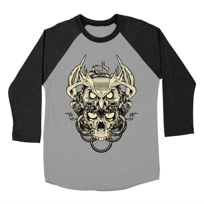 Hydro74 Old School Owl Women's Baseball Triblend Longsleeve T-Shirt by HYDRO74
