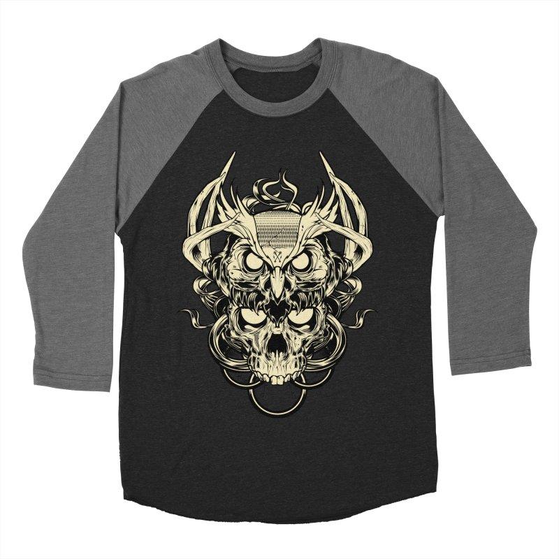Hydro74 Old School Owl Men's Baseball Triblend Longsleeve T-Shirt by HYDRO74