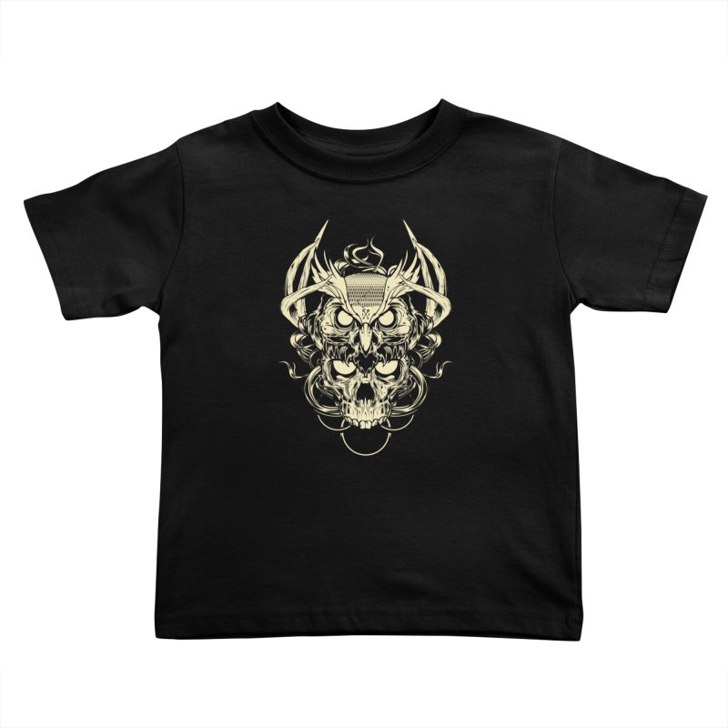 Hydro74 Old School Owl Kids Toddler T-Shirt by HYDRO74