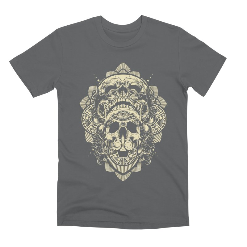 Hydro74 Old School Skull Men's Premium T-Shirt by HYDRO74