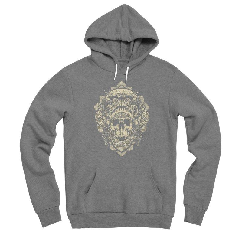 Hydro74 Old School Skull Men's Pullover Hoody by HYDRO74