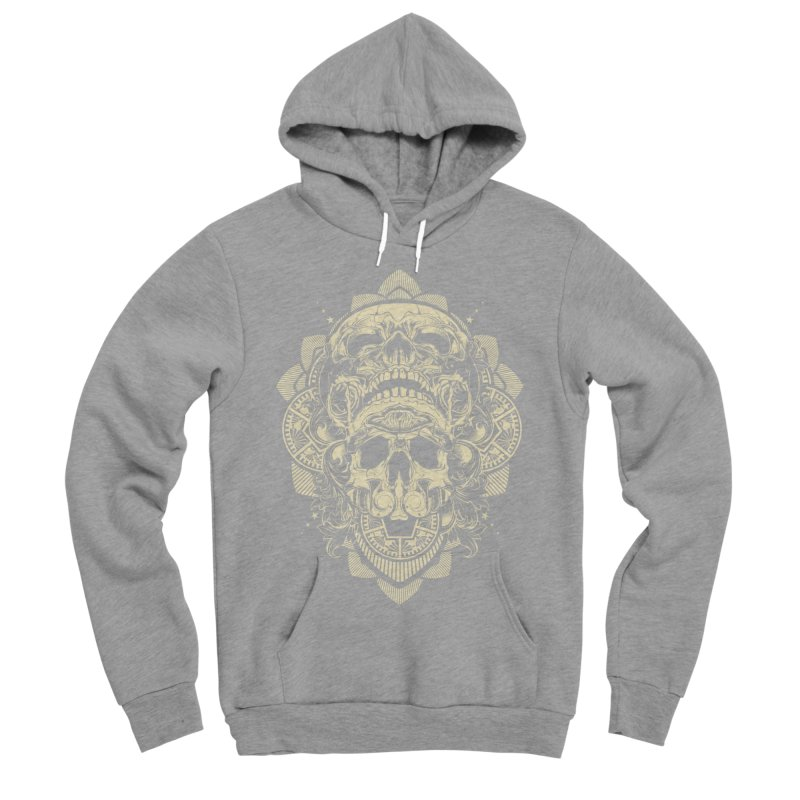 Hydro74 Old School Skull Men's Sponge Fleece Pullover Hoody by HYDRO74
