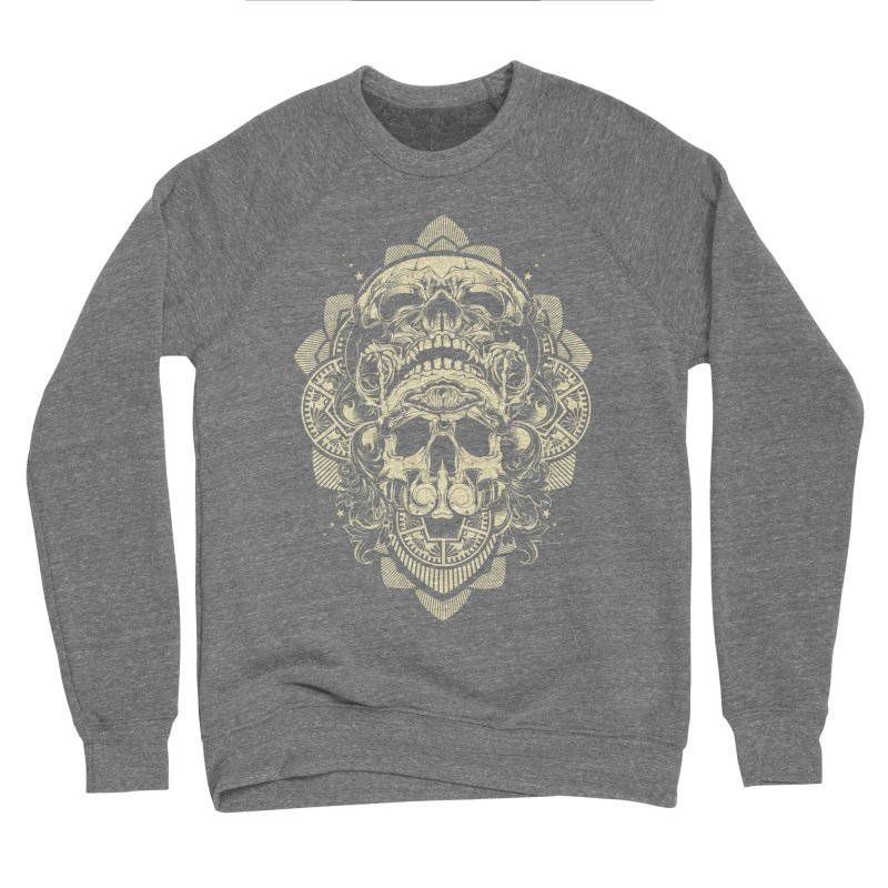 Hydro74 Old School Skull Women's Sponge Fleece Sweatshirt by HYDRO74