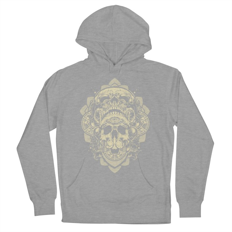 Hydro74 Old School Skull Women's French Terry Pullover Hoody by HYDRO74