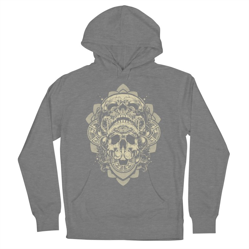 Hydro74 Old School Skull Men's French Terry Pullover Hoody by HYDRO74