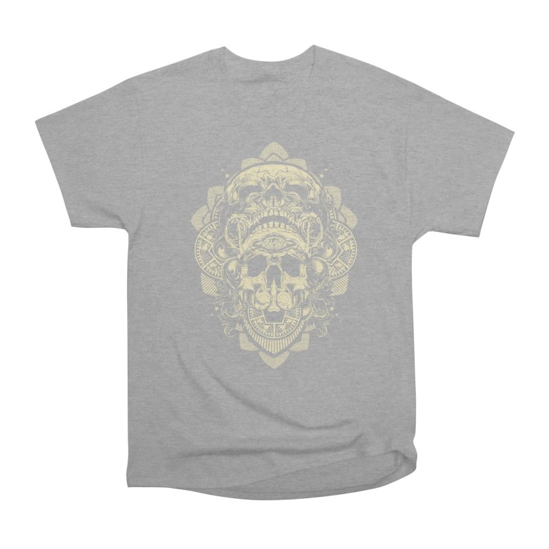 Hydro74 Old School Skull Men's Heavyweight T-Shirt by HYDRO74