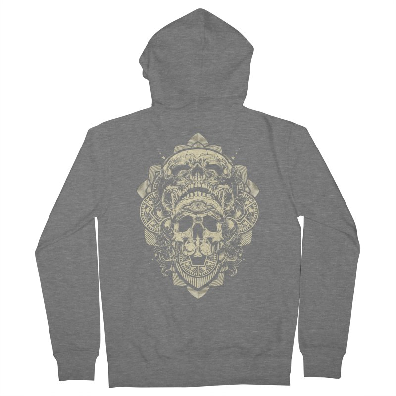 Hydro74 Old School Skull Men's Zip-Up Hoody by HYDRO74