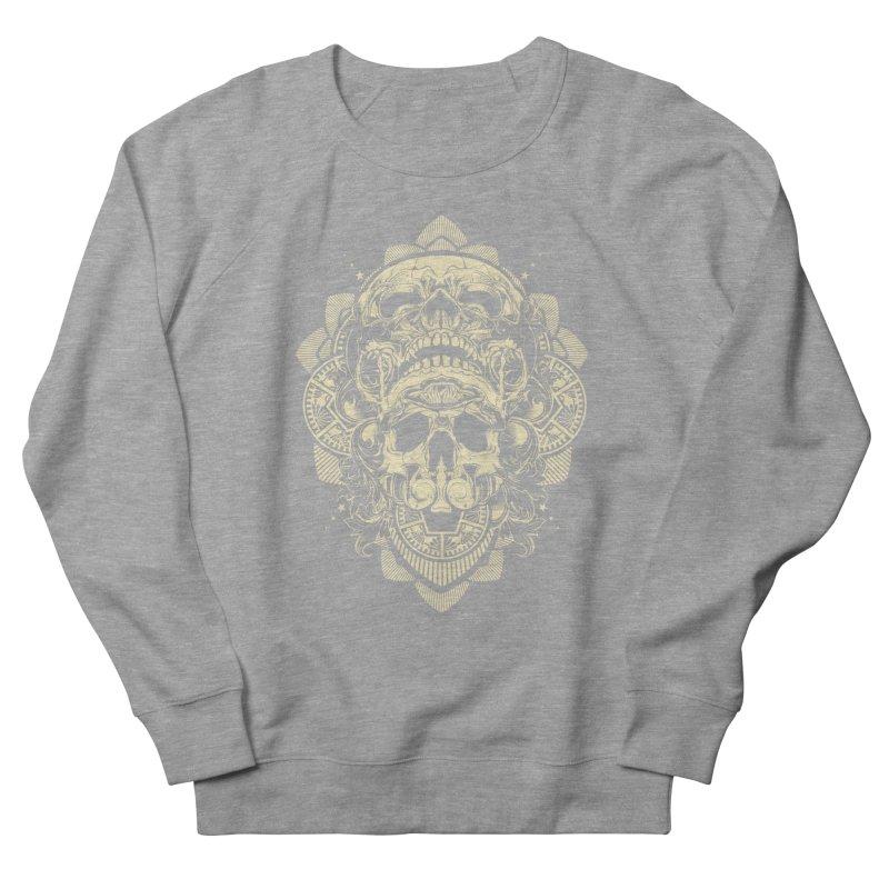 Hydro74 Old School Skull Women's French Terry Sweatshirt by HYDRO74