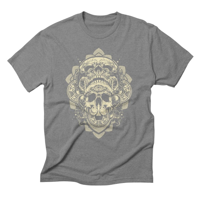 Hydro74 Old School Skull Men's T-Shirt by HYDRO74