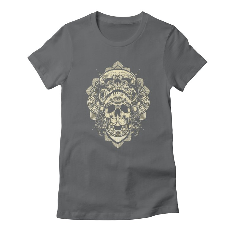 Hydro74 Old School Skull Women's T-Shirt by HYDRO74