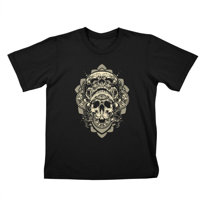 Hydro74 Old School Skull Kids T-Shirt by HYDRO74