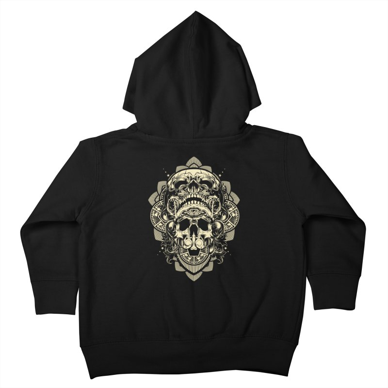 Hydro74 Old School Skull Kids Toddler Zip-Up Hoody by HYDRO74
