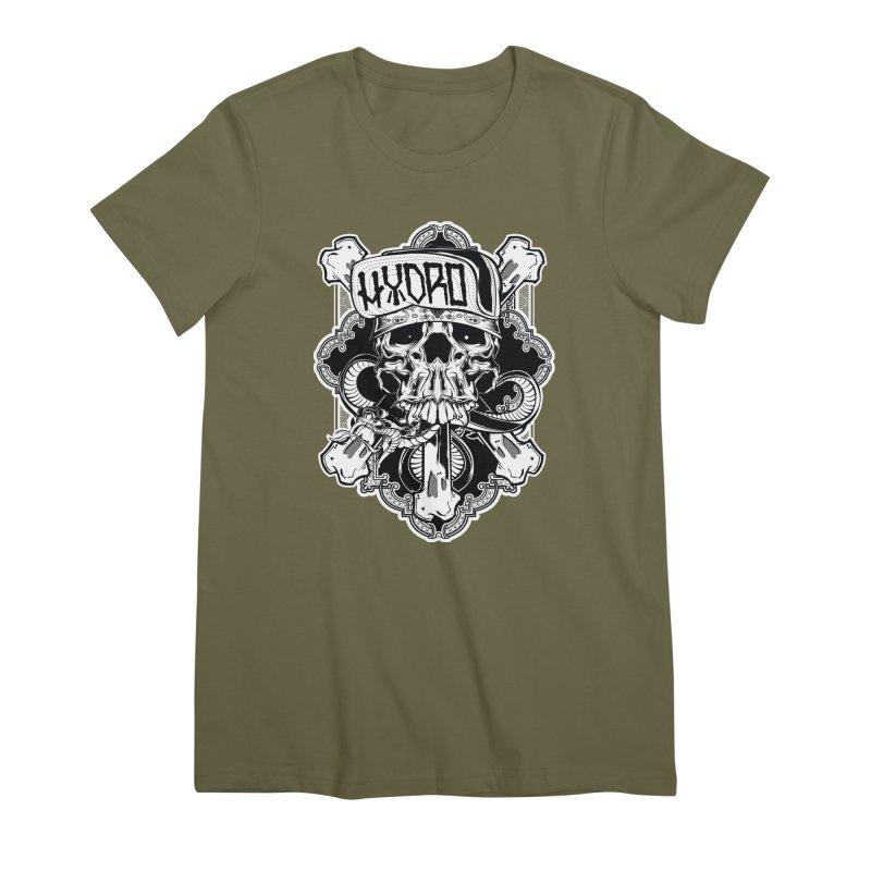 Hydro74 Old School Hesser Women's Premium T-Shirt by HYDRO74