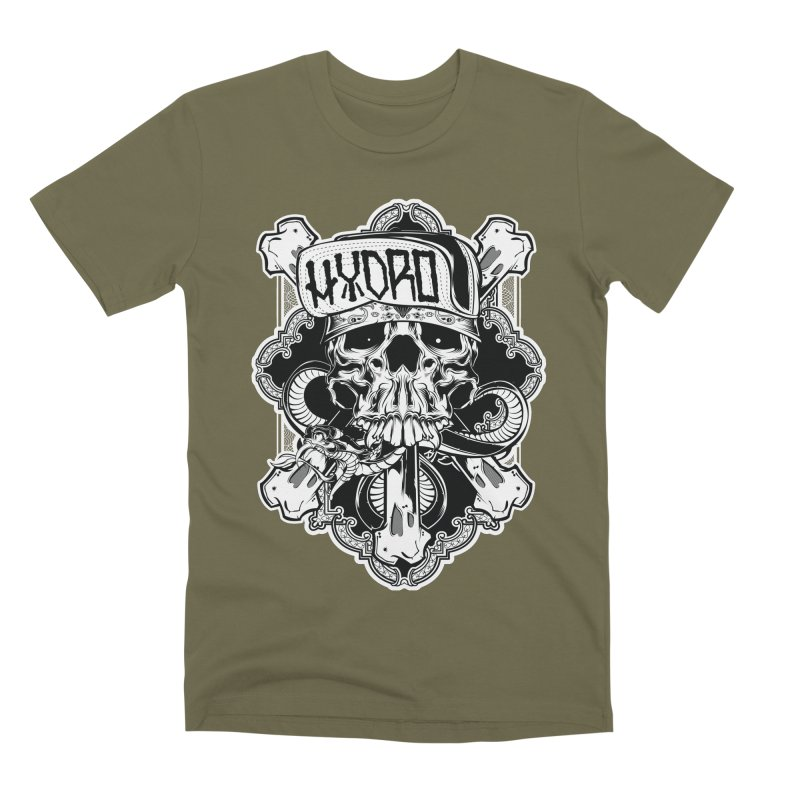 Hydro74 Old School Hesser Men's Premium T-Shirt by HYDRO74