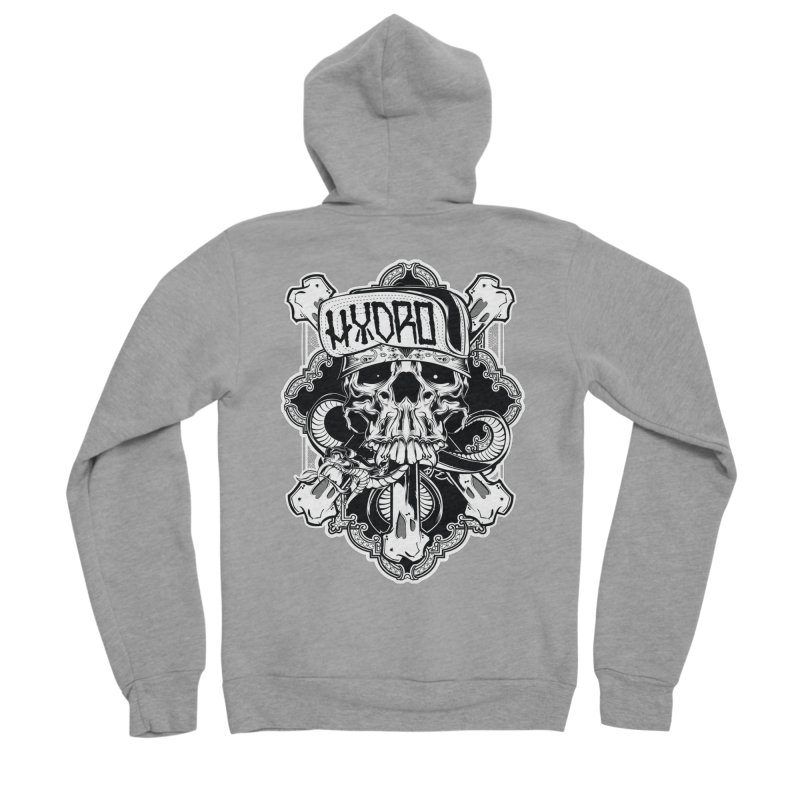 Hydro74 Old School Hesser Women's Sponge Fleece Zip-Up Hoody by HYDRO74