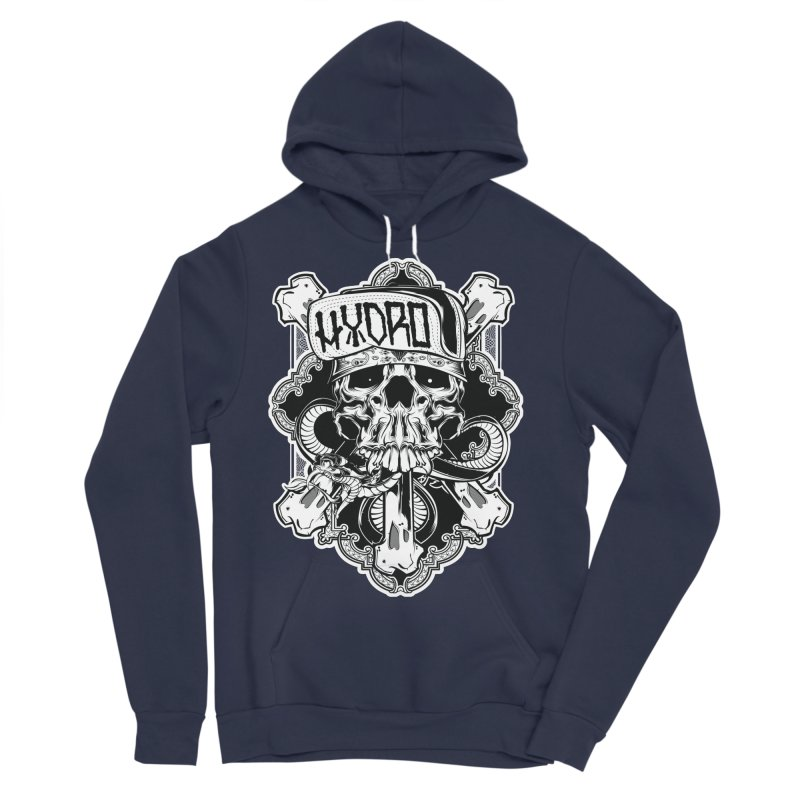 Hydro74 Old School Hesser Men's Sponge Fleece Pullover Hoody by HYDRO74