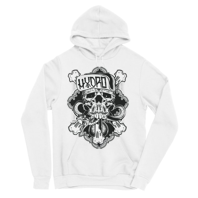 Hydro74 Old School Hesser Women's Sponge Fleece Pullover Hoody by HYDRO74