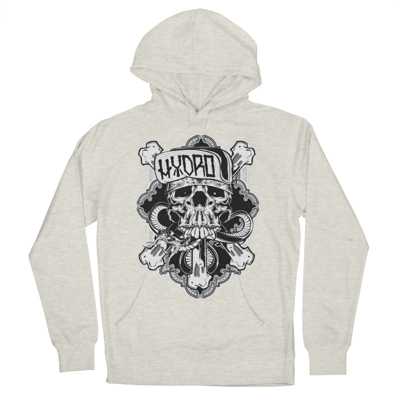 Hydro74 Old School Hesser Women's French Terry Pullover Hoody by HYDRO74