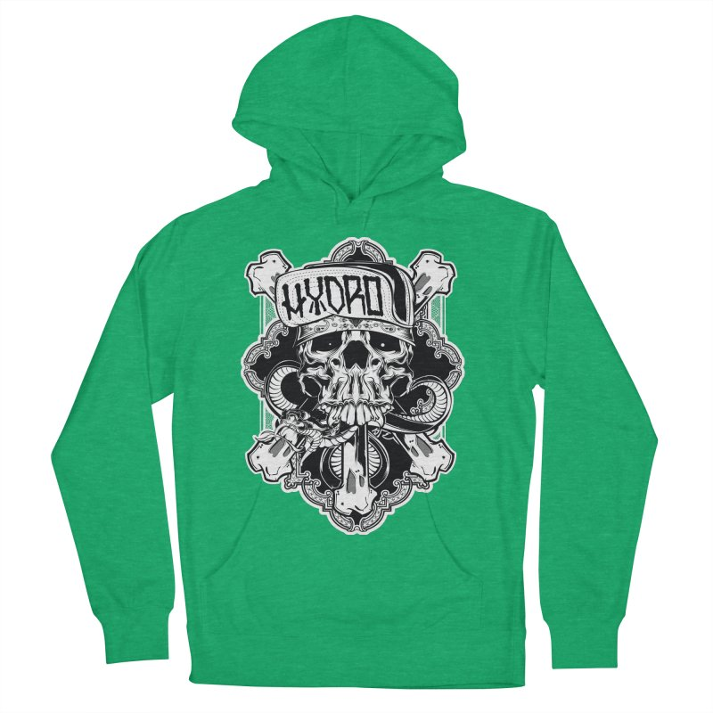 Hydro74 Old School Hesser Men's French Terry Pullover Hoody by HYDRO74