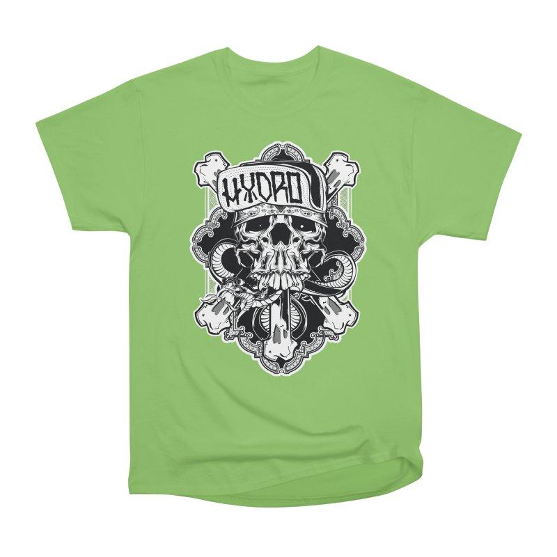 Hydro74 Old School Hesser Men's Heavyweight T-Shirt by HYDRO74