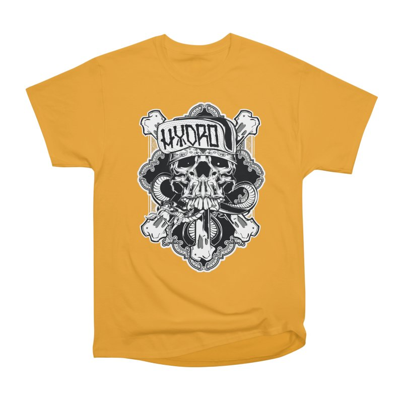 Hydro74 Old School Hesser Women's Heavyweight Unisex T-Shirt by HYDRO74