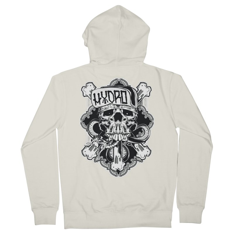 Hydro74 Old School Hesser Men's French Terry Zip-Up Hoody by HYDRO74