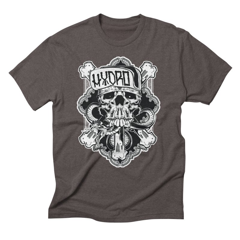 Hydro74 Old School Hesser Men's Triblend T-Shirt by HYDRO74