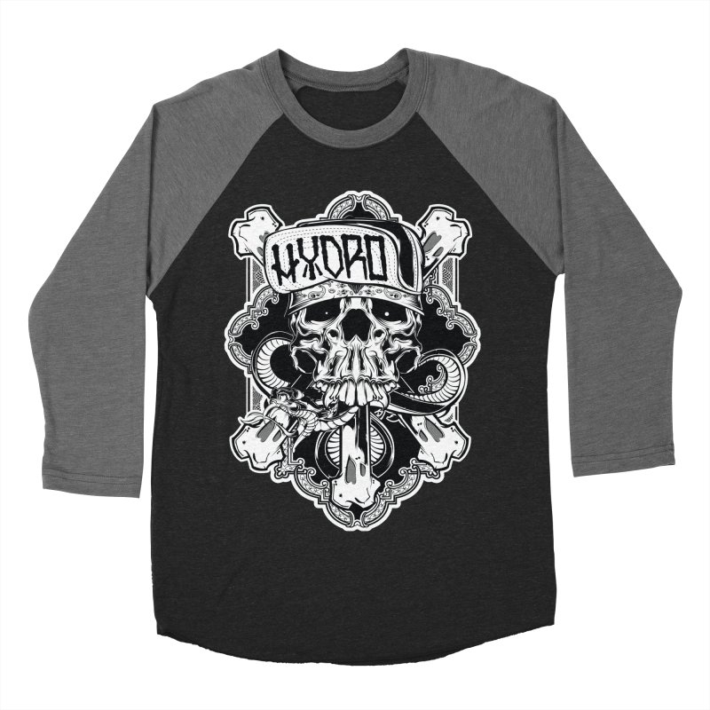 Hydro74 Old School Hesser Men's Baseball Triblend Longsleeve T-Shirt by HYDRO74