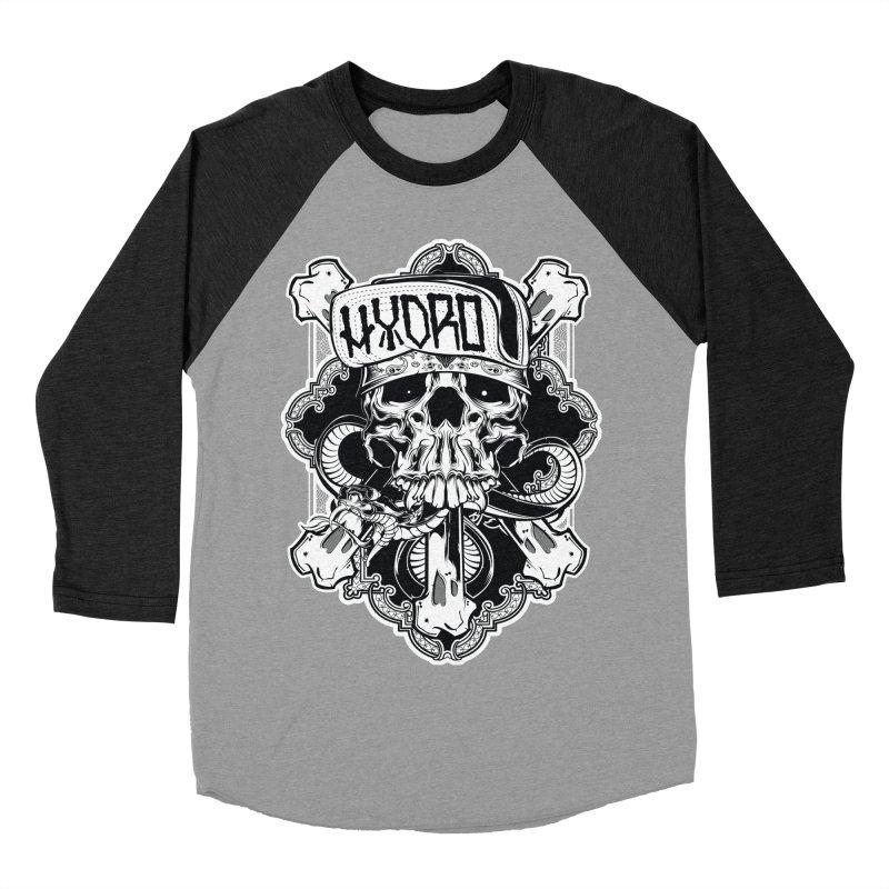 Hydro74 Old School Hesser Men's Baseball Triblend Longsleeve T-Shirt by HYDRO74