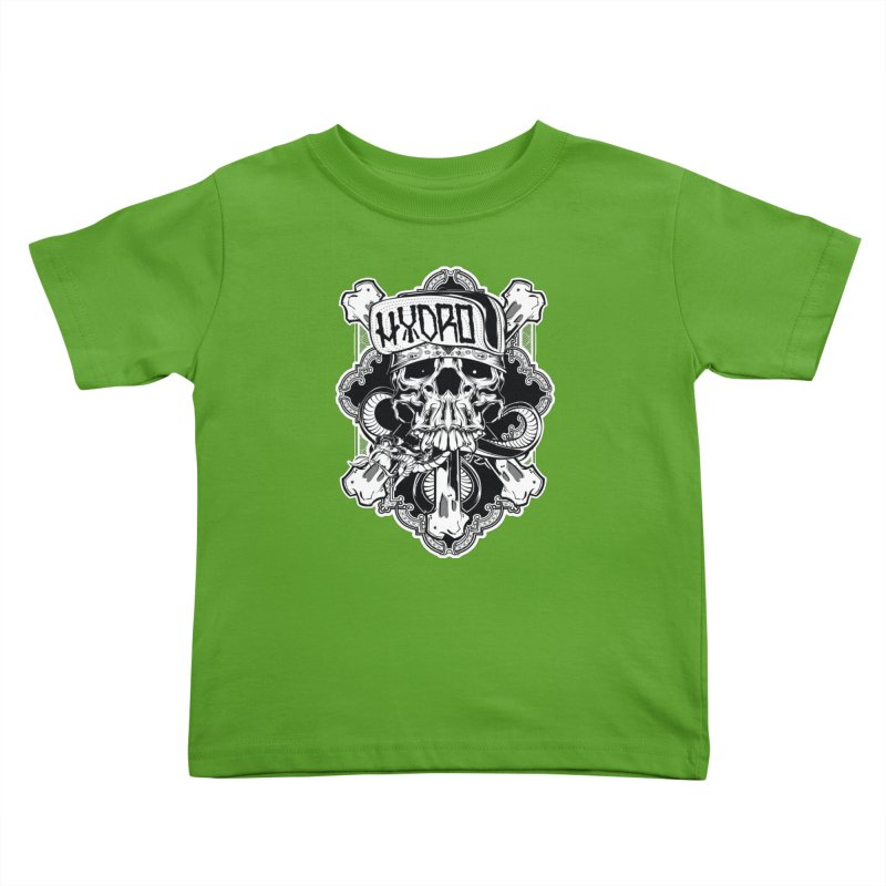 Hydro74 Old School Hesser Kids Toddler T-Shirt by HYDRO74