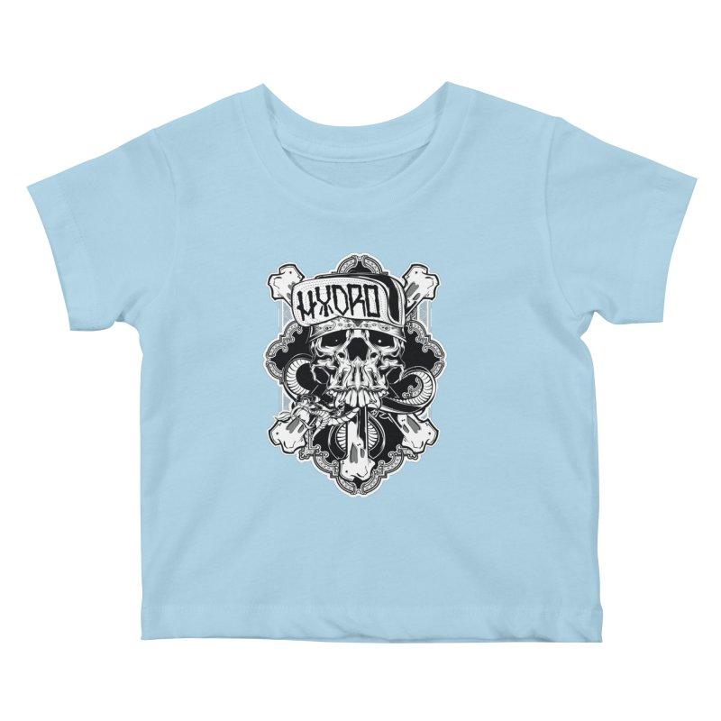 Hydro74 Old School Hesser Kids Baby T-Shirt by HYDRO74