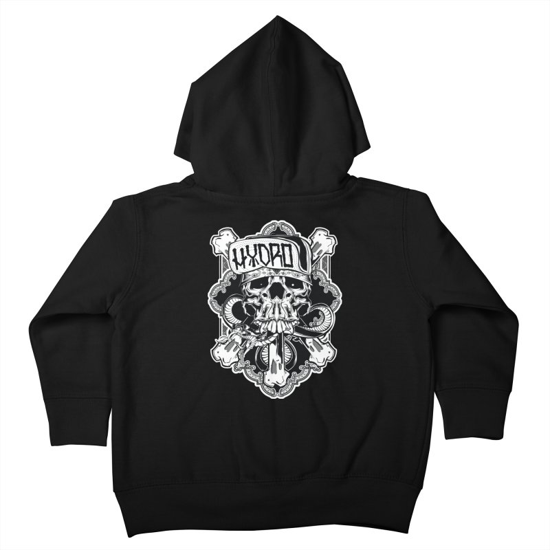 Hydro74 Old School Hesser Kids Toddler Zip-Up Hoody by HYDRO74