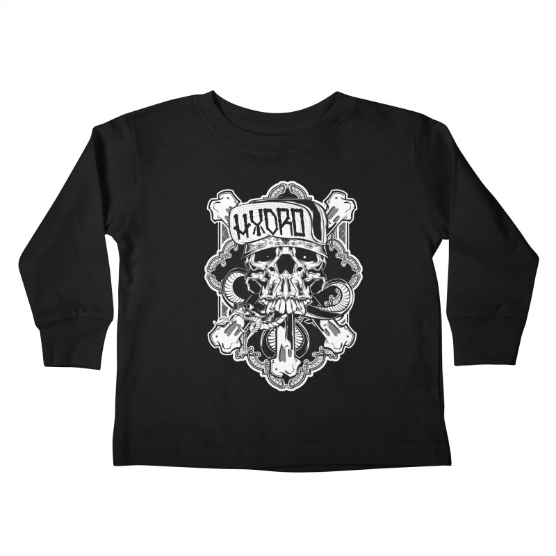 Hydro74 Old School Hesser Kids Toddler Longsleeve T-Shirt by HYDRO74