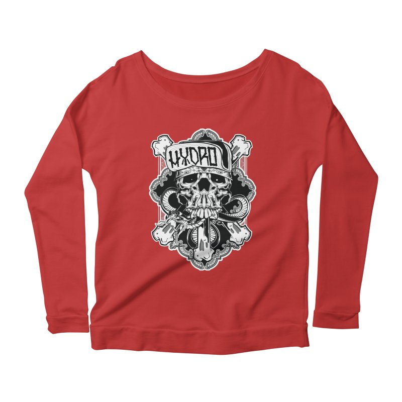Hydro74 Old School Hesser Women's Scoop Neck Longsleeve T-Shirt by HYDRO74