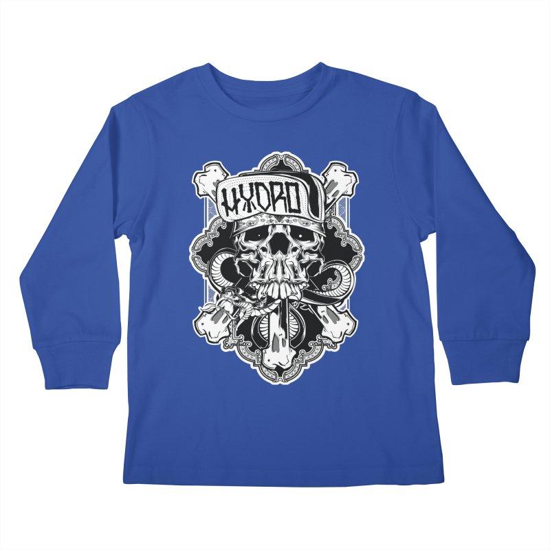 Hydro74 Old School Hesser Kids Longsleeve T-Shirt by HYDRO74