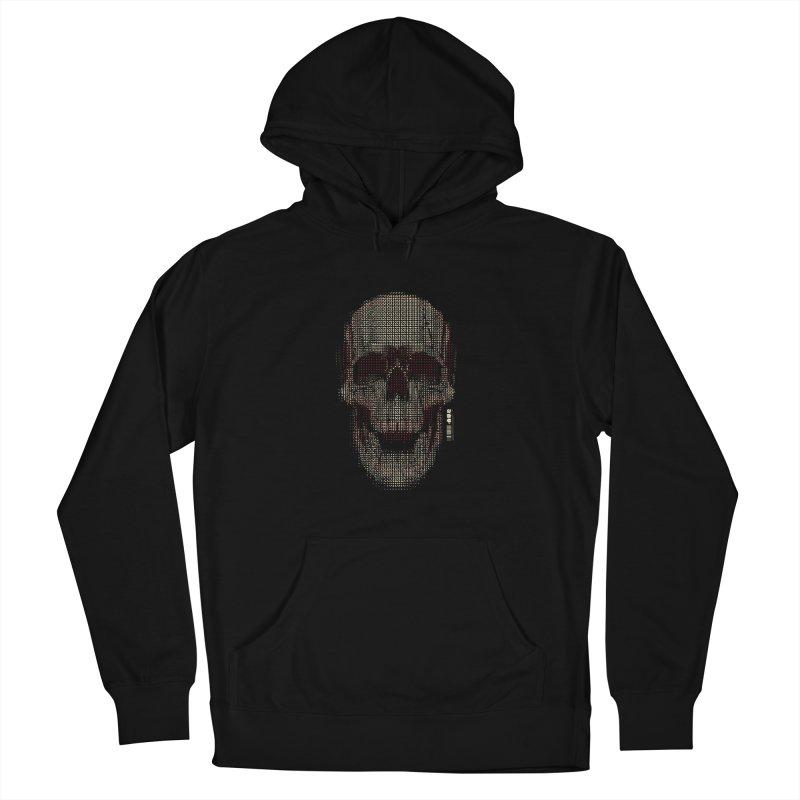 Grid Skull Men's Pullover Hoody by HYDRO74