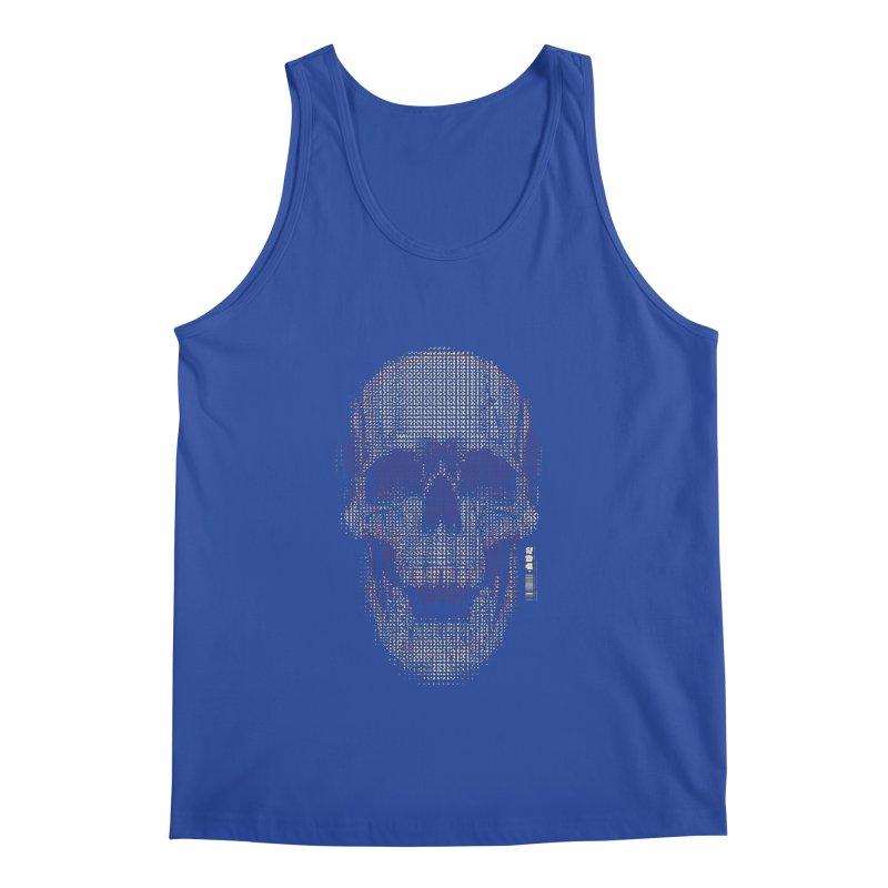 Grid Skull Men's Tank by HYDRO74