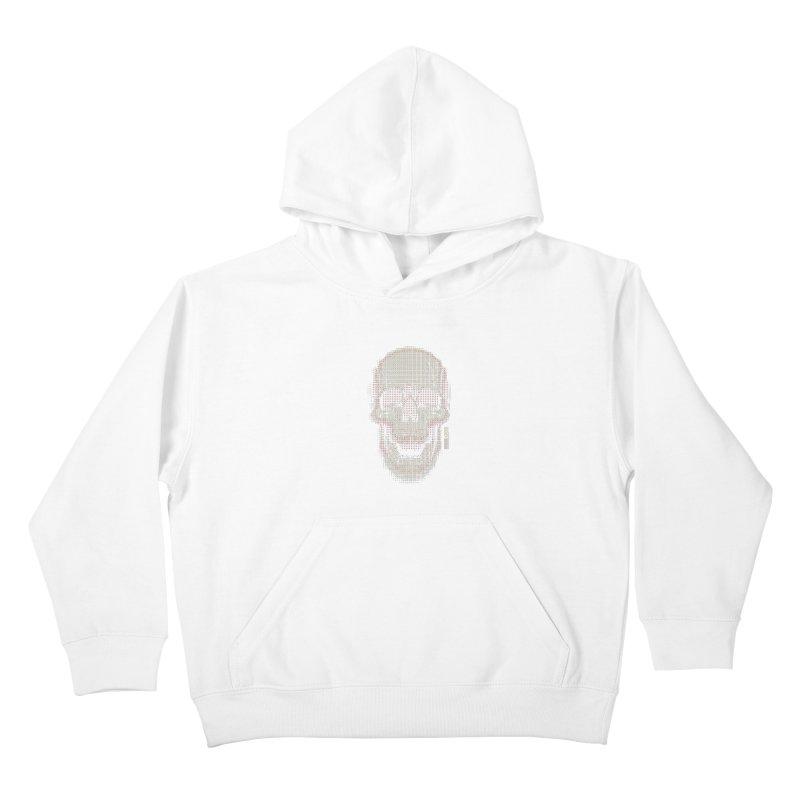 Grid Skull Kids Pullover Hoody by HYDRO74
